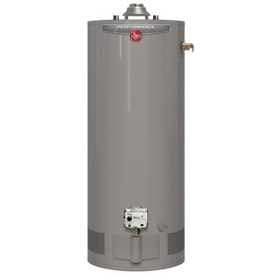 Performance 40 Gal. Short 6 Year 38,000 BTU Natural Gas Water Heater