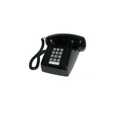Desk Corded Telephone with Message Waiting - Black