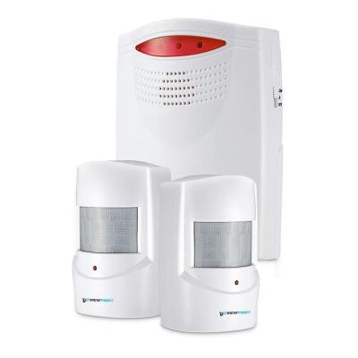 Wireless Motion Activated Alarm Set with 2-Sensors