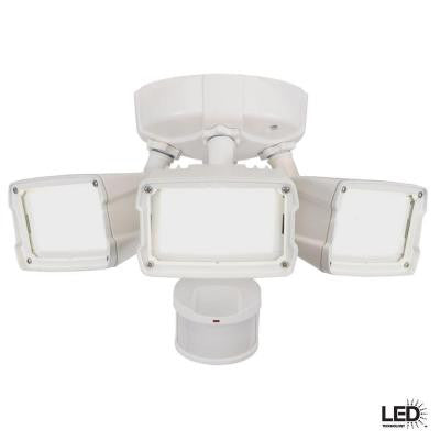 270 Degree Outdoor Motion Activated White LED Security Floodlight
