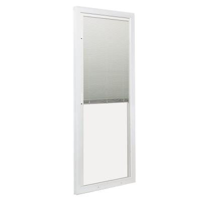 72 in. x 80 in. 200 Series 6 ft. Left-Hand Perma-Shield Stationary Panel w/ Built-In Blinds for PS510 Gliding Patio Door