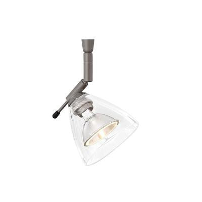 Mini-Dome I Swivel I 1-Light Bronze Clear Track Lighting Head