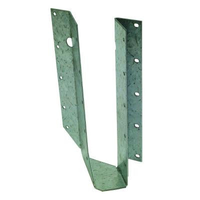 SUR 2x10 ZMAX Galvanized Joist Hanger Skewed Right