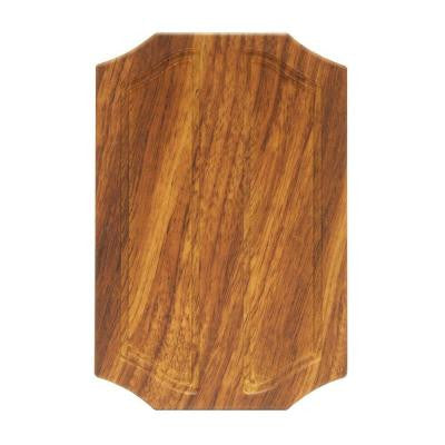 Wireless or Wired Door Bell - Medium Oak Wood