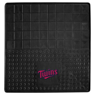 Minnesota Twins Heavy Duty Vinyl 31 in. x 31 in. Cargo Mat