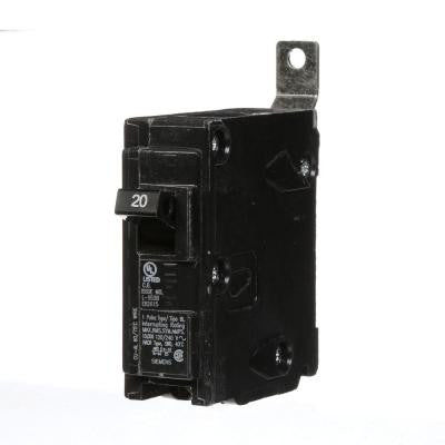 20 Amp Single-Pole Type BL Bolt-On Circuit Breaker