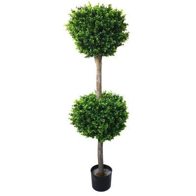 4.5 ft. Hedyotis Double Ball Topiary Tree