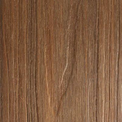 UltraShield Naturale Cortes Series 1 in. x 5-1/2 in. x 16 ft. Solid Composite Decking Board in Peruvian Teak