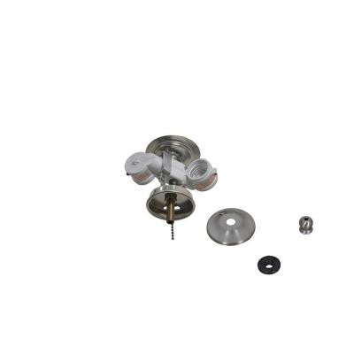 Larson 52 in. Brushed Nickel Ceiling Fan Replacement Light Kit