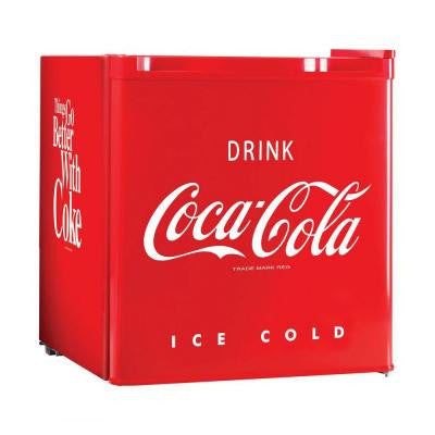 Coca-Cola Series 1.7 cu. ft. Mini Refrigerator in Red