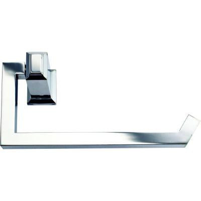 Sutton Place Single Post Toilet Paper Holder in Polished Chrome