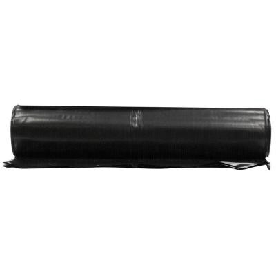 20 ft. x 50 ft. Black 6 mil. Plastic Sheeting
