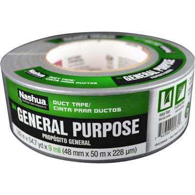 1 7/8 in. x 55 yd. 394 General Purpose Duct Tape - Silver