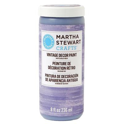 Vintage Decor 8 oz. Purple Dusk Matte Chalk Finish Paint