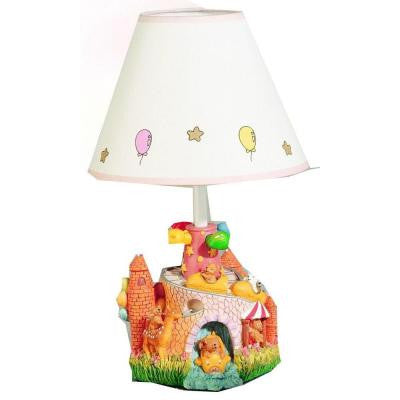 Cooper 14 in. Multicolor Carnival Bears Incandescent Novelty Lamp
