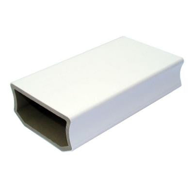 Regency 1-1/4 in. x 3-1/2 in. x 6 in. White Capped Composite Rail Sample