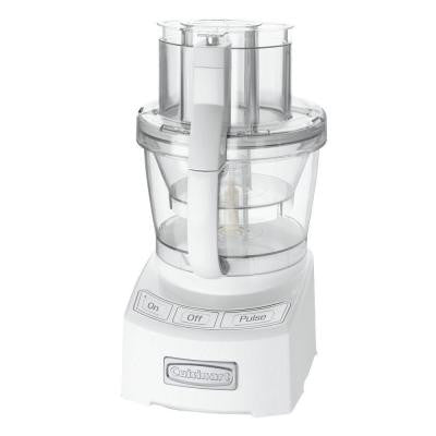 Elite Collection 12-Cup Food Processor in White