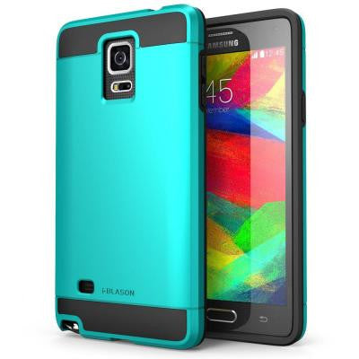 Unity Dual Layer Case for Samsung Galaxy Note 4 - Blue