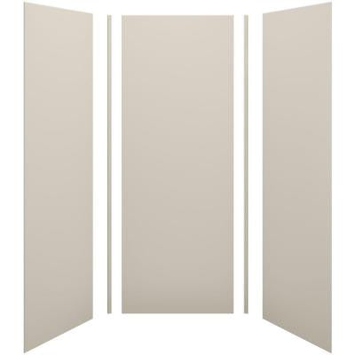 Choreograph 36 in. x 36 in. x 96 in. 5-Piece Shower Wall Surround in Sandbar for 96 in. Showers