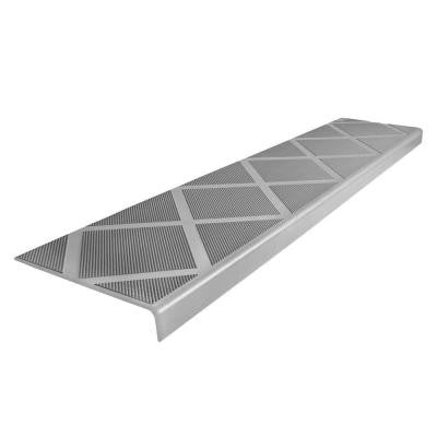 Anti-Slip Stair Tread 48 in. Grey Step Cover