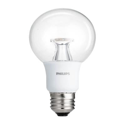 40W Equivalent Soft White Clear G25 Dimmable LED with Warm Glow Light Effect Light Bulb