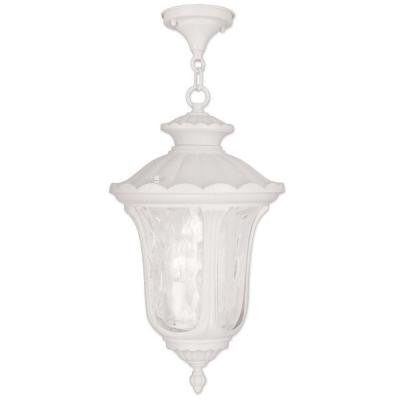 Providence 3-Light Outdoor White Incandescent Pendant