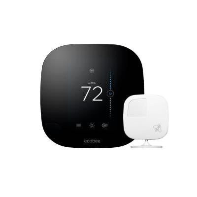 7-Day Smarter Wi-Fi Programmable Thermostat with Remote Sensor, HomeKit Enabled