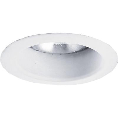5 in. White Recessed Open Shower Trim