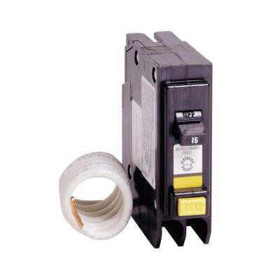 15 Amp 1 in. Single-Pole Arc Fault Type CL Circuit Breaker