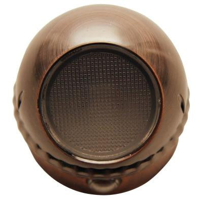 0.3-Watt Brushed Copper Rotating Spot LED Night Light