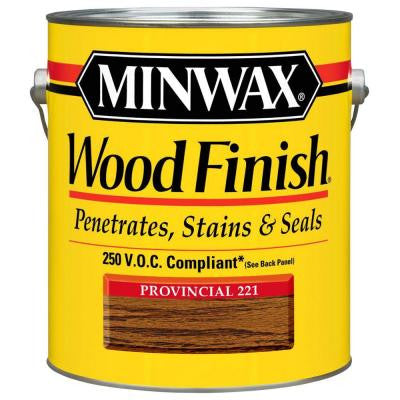 1 gal. Provincial Wood Finish 250 VOC Oil-Based Interior Stain