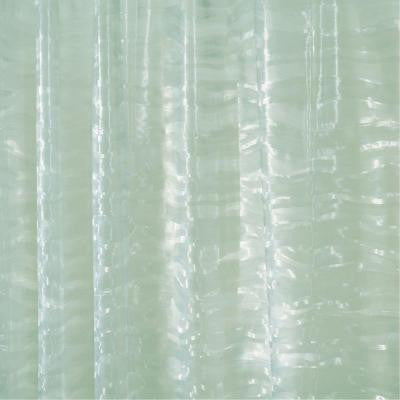 Ripplz EVA Shower Curtain in Green