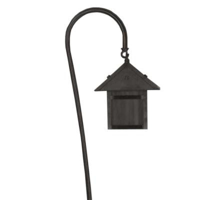 Centennial Black Textured Outdoor LED Path Light