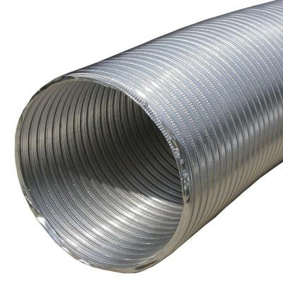 4 in. x 96 in. Round Aluminum Flex Pipe