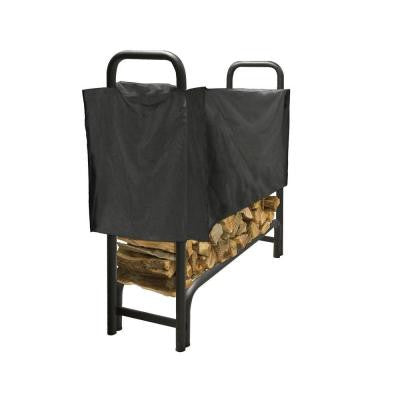 4 ft. Polyester Half-Length Firewood Rack Cover