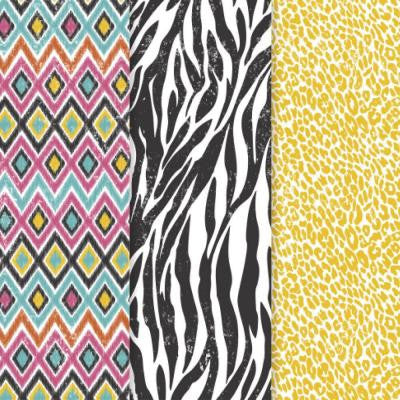 12 in. x 16 in. Decou-Page Paper Safari Life (3-Pack)
