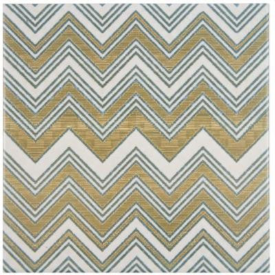 Boheme Wave 7-3/4 in. x 7-3/4 in. Ceramic Floor and Wall Tile