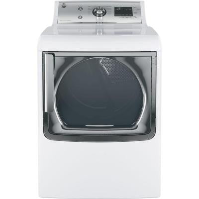 7.8 cu. ft. Gas Dryer in White