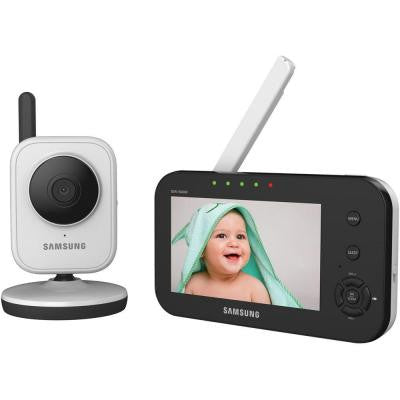 SimpleVIEW Video Baby Monitoring System with 4.3 in. Monitor