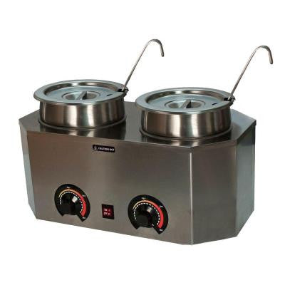 Deluxe Pro-Style Warmer Dual Ladle Unit