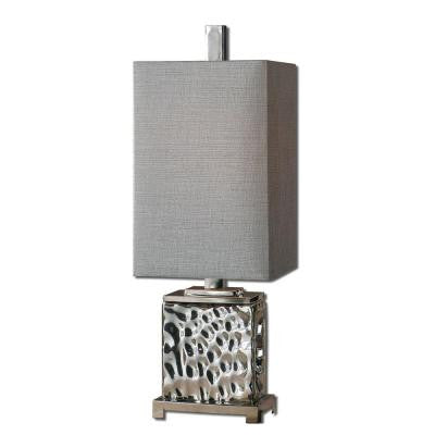 32 in. Nickel Buffet Lamp