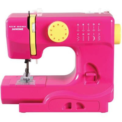 10-Stitch Fast Lane Sewing Machine in Fuchsia