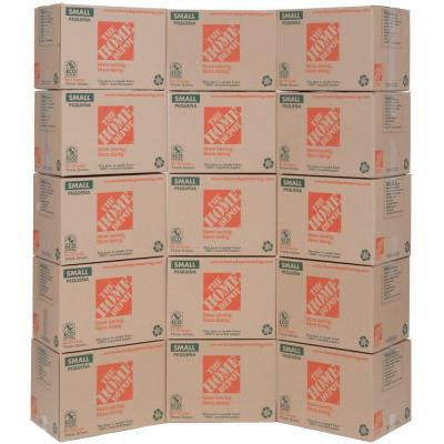 16 in. x 12 in. x 12 in. Small Moving Box (15-Pack)