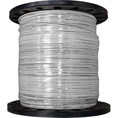 2500 ft. 12/19 Stranded THHN Wire - White