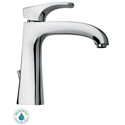 Lady Single Hole 1-Handle Low-Arc Bathroom Faucet in Chrome