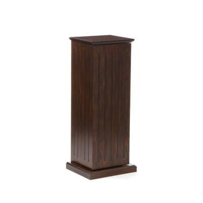 100 Disc Capacity Espresso Multimedia Storage Pedestal