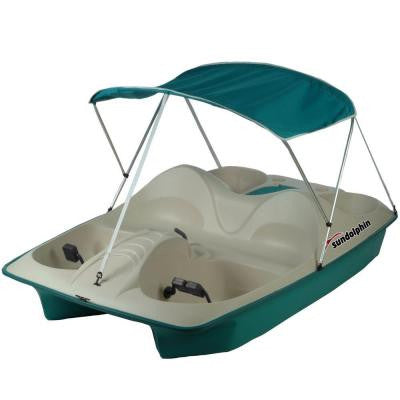 5-Person Pedal Boat with Canopy