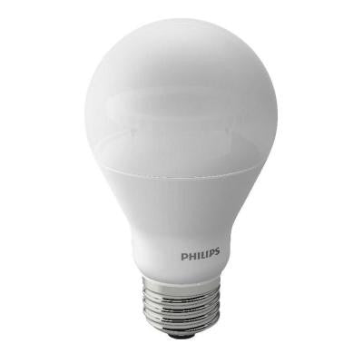 60W Equivalent Soft White A19 Dimmable LED with Warm Glow Light Effect Light Bulb (4-Pack)