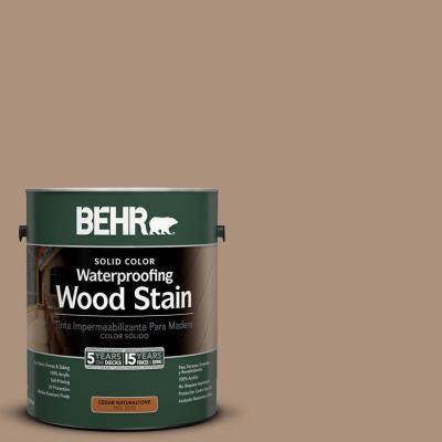 1-Gal. #SC-160 Rose Beige Solid Color Waterproofing Wood Stain