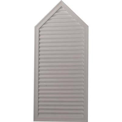 1-7/8 in. x 24-1/8 in. x 54-1/8 in. Decorative Peaked Gable Vent